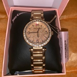 Juicy Couture Rose Gold Stainless Steel Watch